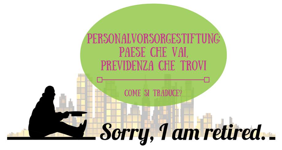 Personalvorsorgestiftung