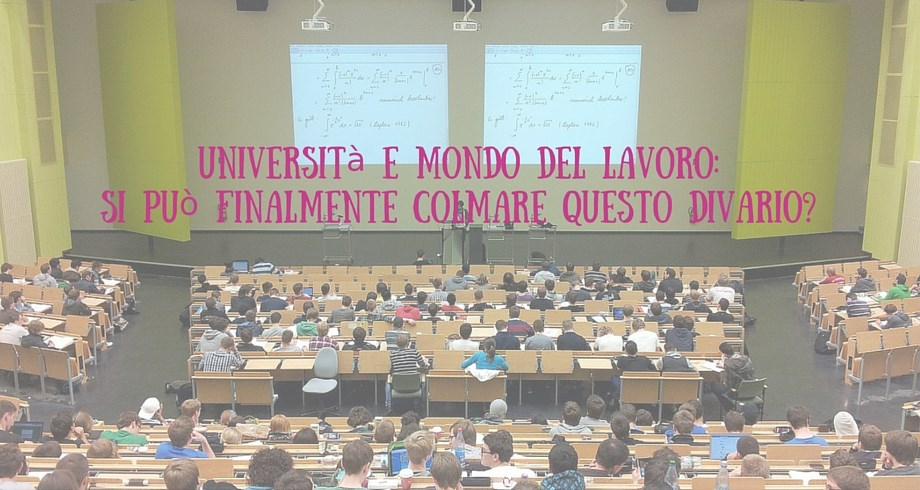 Università lavoro