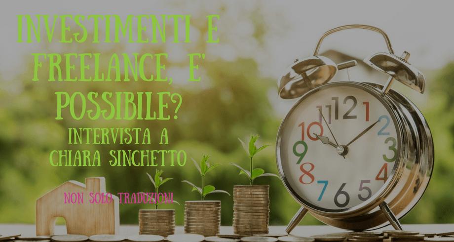 investimenti e freelance